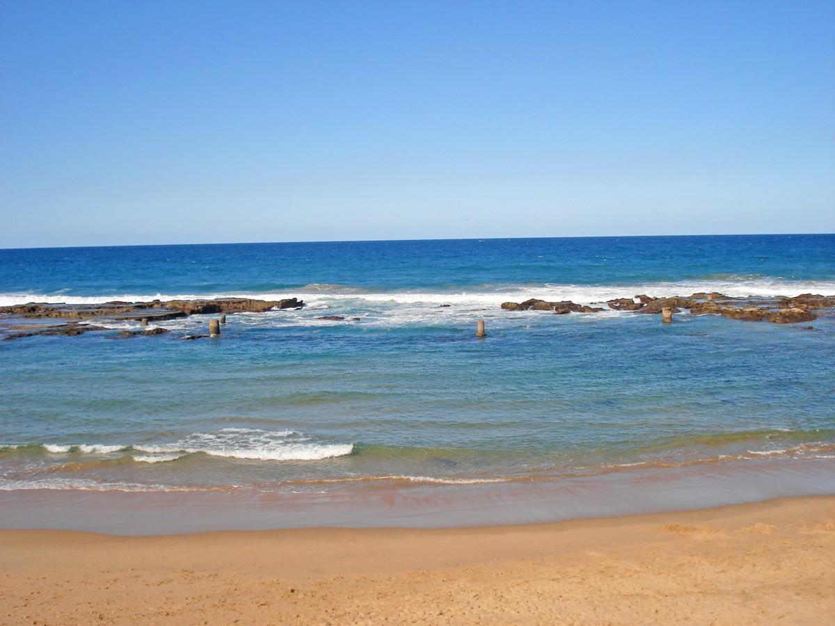 NATURAL TIDAL POOL In UMDLOTI BEACH